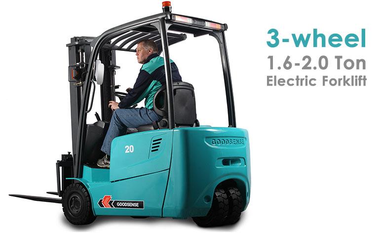 3 Wheel 1.6-2.0 Ton Forklift Truck