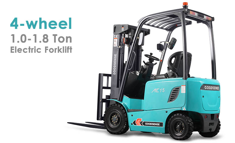 4 Wheel 1.0-1.8 Ton Forklift