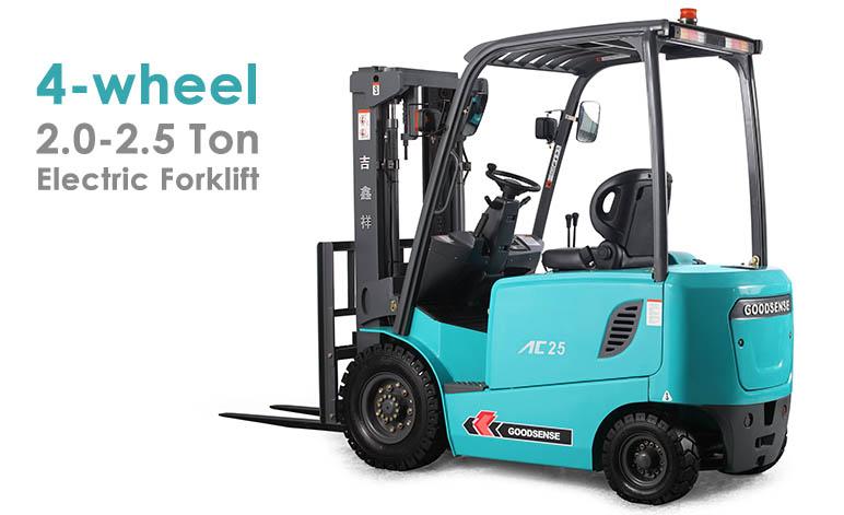 4 wheel 2.0-2.5 Ton Forklift Truck