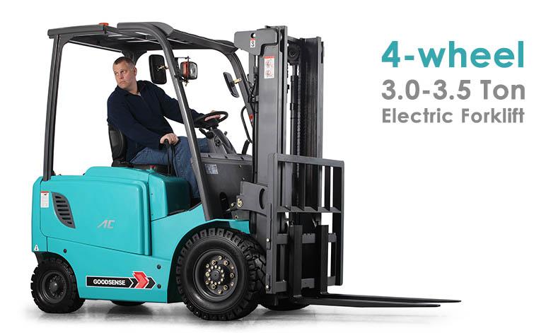 4 Wheel 3.0-3.5 Ton Forklift