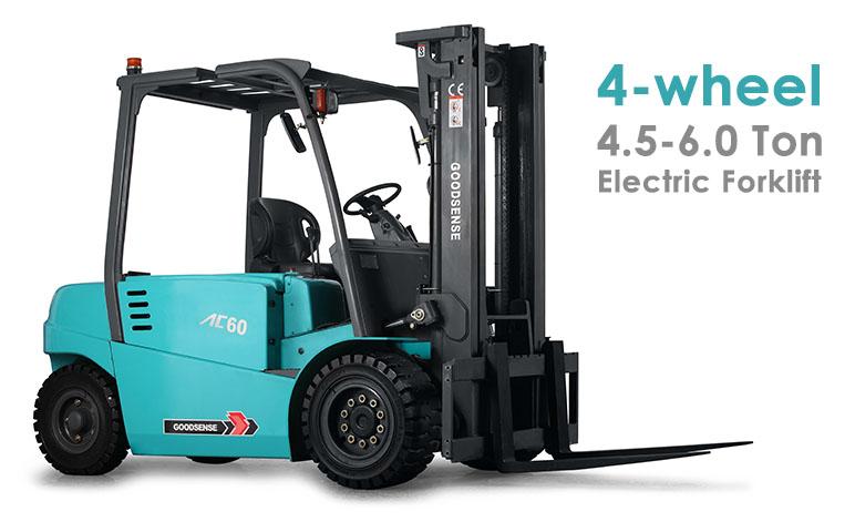 4 Wheel 4.5-6.0 Ton Forklift Truck