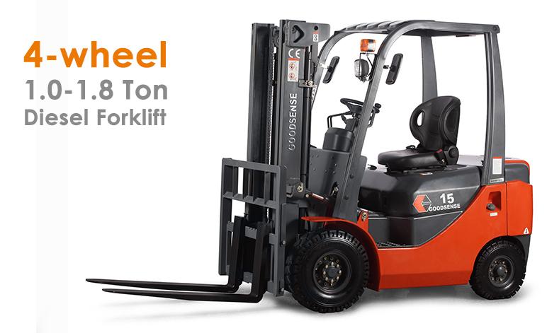 1-1.8 Ton Diesel Forklift Truck