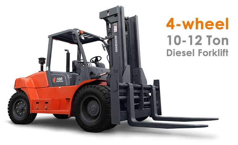 10-12 Ton Diesel Forklift Trucks