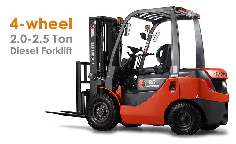 2-2.5 Ton Diesel Forklift truck