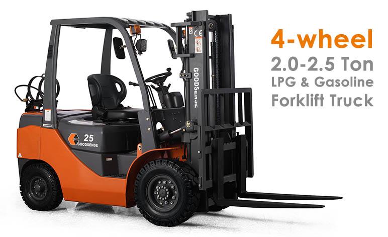 2-2.5 Ton LPG Gasoline Forklift
