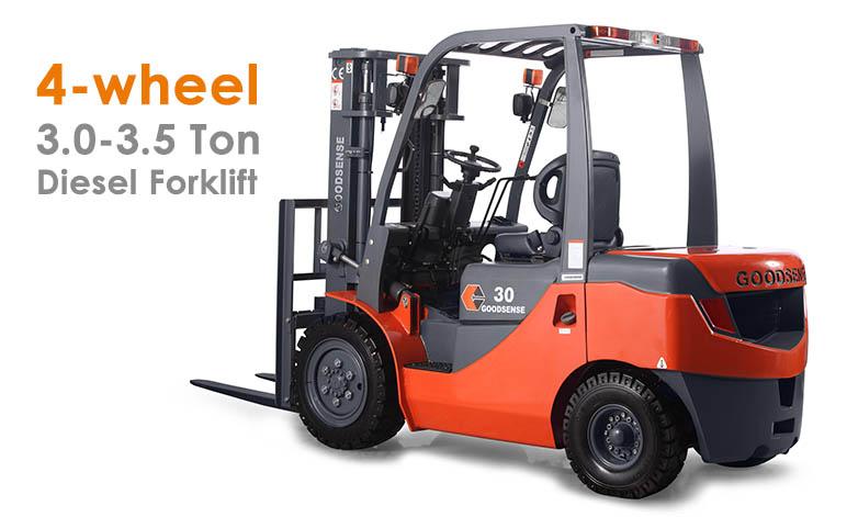 3-3.5 Ton Diesel Forklift Trucks