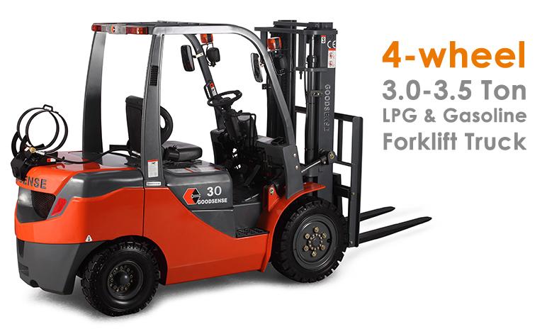 3-3.5 Ton LPG Gasoline Forklift Truck