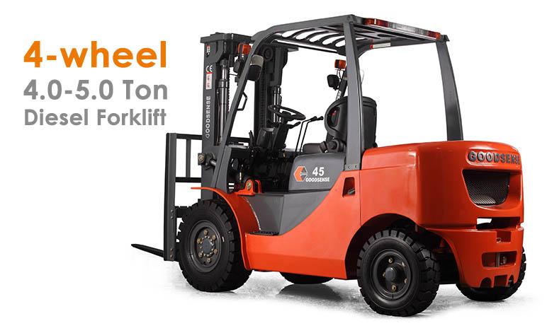 4-5.0 Ton Diesel Forklift Trucks
