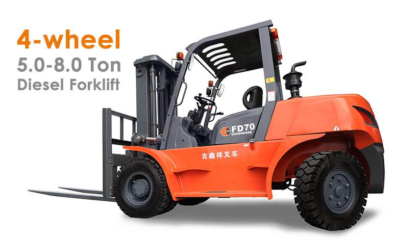 5-8.0 Ton Diesel Forklift Truck