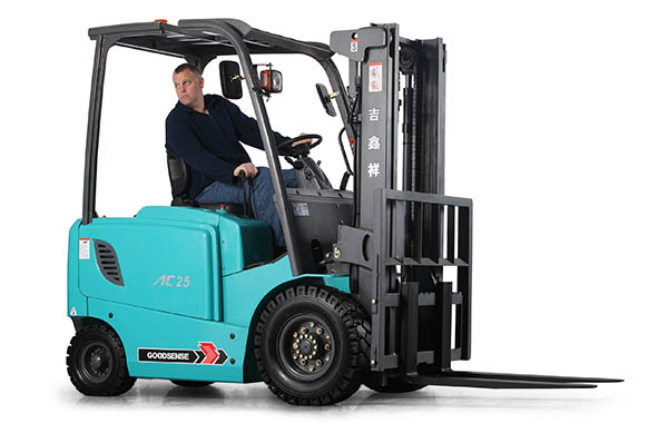 Using Goodsense Forklift Trucks UK