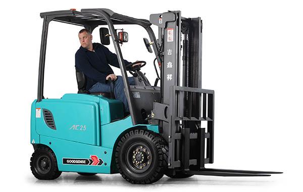 Using Goodsense Forklift Trucks UK